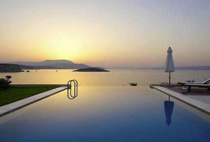 Villa Anemos exlusive location in West Crete  breathtaking views