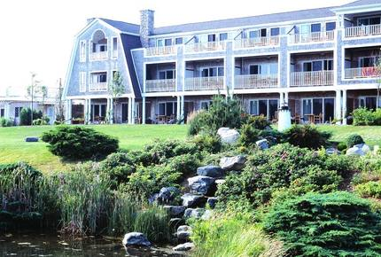 Townhouse at the Winnetu Oceanside Resort in Martha's Vineyard