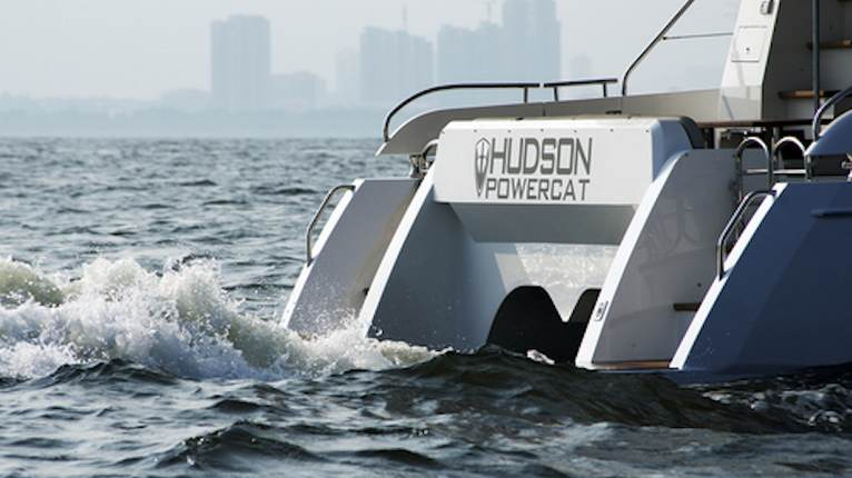 Virgin Motor Yachts Hudson Powercat 48 Tortola Virgin Islands