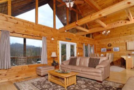 Angels Crest Arrowhead Log Cabin Resort