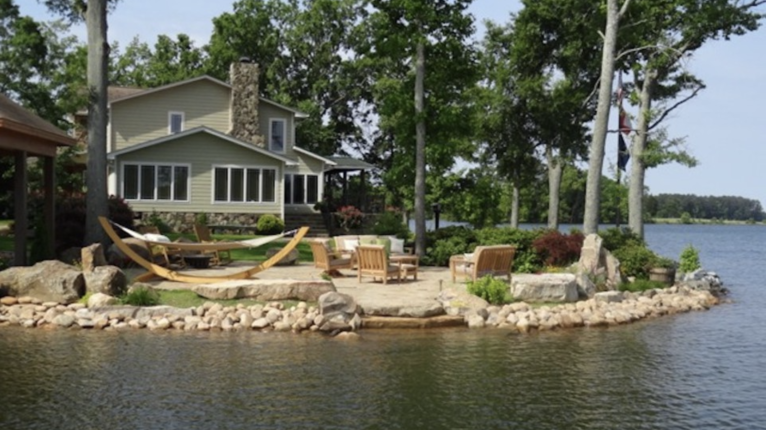 Tremendous Lakefront Home On Lake Murray Gilbert South Carolina Home Interior And Landscaping Transignezvosmurscom