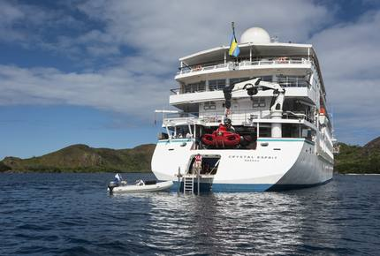 CRYSTAL ESPRIT YACHT EXPEDITION