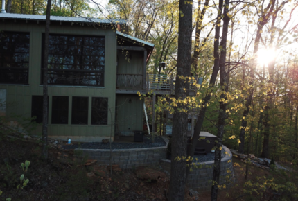 A Quiet Beautiful Mountain Home Near Greenville and Asheville