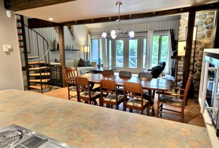 Mont-Tremblant Ski Chalet - Ski-In/Ski-Out Access