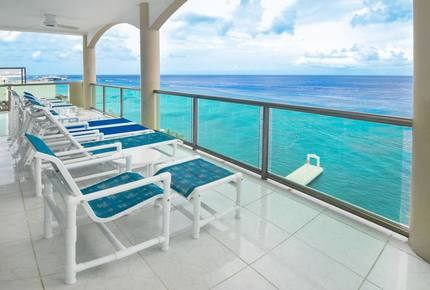 Oceanfront Penthouse Cozumel Mexico