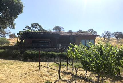 Spectacular Napa Valley V12 Vineyard Cottage with Private Tasting!