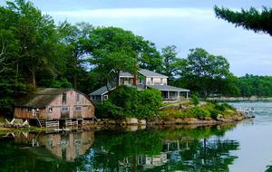 Davis Island Cottage - Edgecomb, Maine