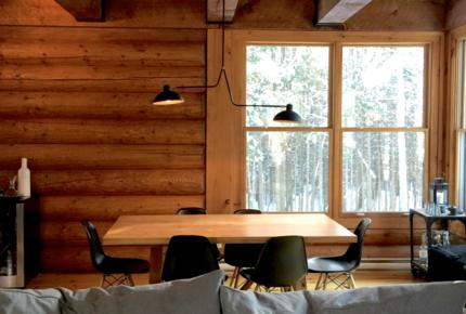 Scandinavian Wood Cottage Near Mont-Tremblant