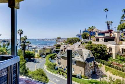Ocean and Bay View Luxury Villa - Corona del Mar, California
