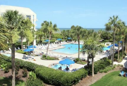 Ocean front with walk out patio Hilton Head Island - Hilton Head, South Carolina