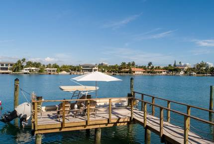 Luxury Waterfront Hideaway very close to Miami Beach!