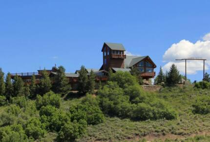 Timber Moose - Largest Private Log Cabin in America - Heber City, Utah