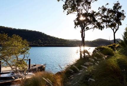 Sentry Rock on Hawkesbury River