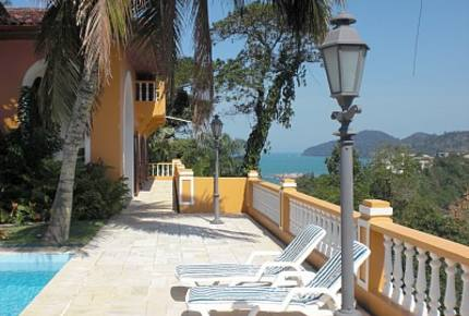 Oceanfront Mansion in Famous Resort Santa Rita - Ubatuba, Brazil