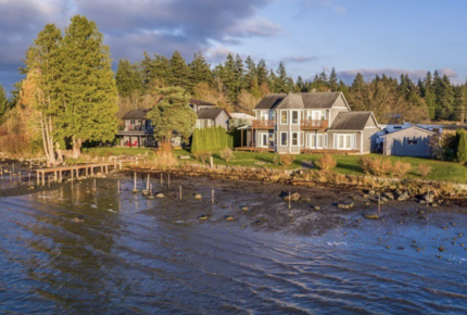 Waterfront Sunset Home in Birch Bay