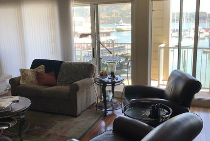 Waterfront Views in Downtown Tiburon