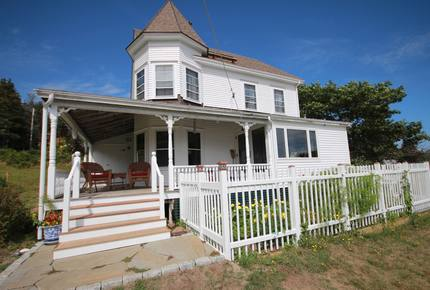 Maine Island Harbor Home