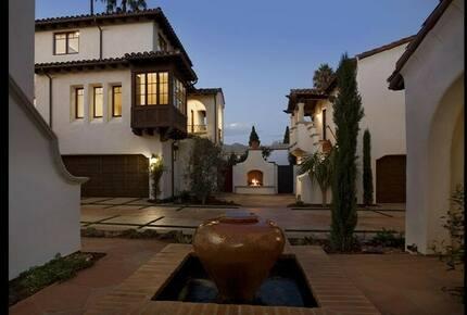 Eco Friendly, near the Beach, Santa Barbara Luxury Villa