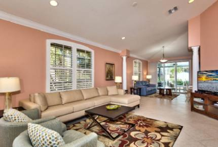 Tuscan Style Vacation Home - Naples, Florida