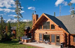 Mountainside Ski-in/Ski-out Luxury Cabin - Big Sky, Montana