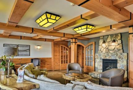 Ski In Ski Out Luxury Lodge Studio