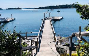 Modern Oceanfront Cottage - Boothbay, Maine