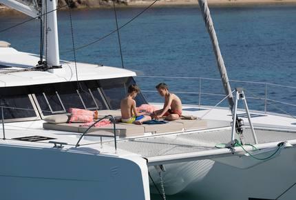 "Fountaine Pajot Saona  47' Catamaran ""No Shoes"" - Navigare Yachting"