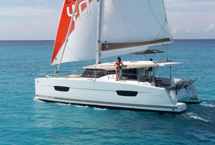 "Fountaine Pajot Lucia 40' Catamaran ""Jaxnjoe Com"" - Navigare Yachting - Road Town, Virgin Islands, British"