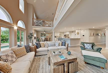 New Listing! Canalside Home w/ Pool, Walk to Beach - Saint Pete Beach, Florida