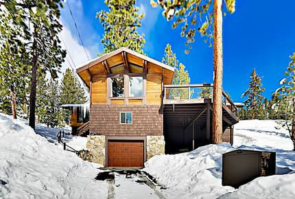 Updated Cabin w/ Lake & Heavenly Mountain Views
