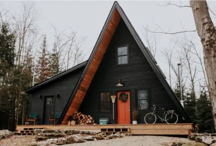 Luxury Bruce Peninsula A-Frame with 25 Private Acres and Private Trails!
