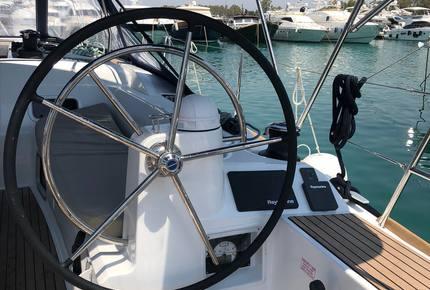 "Sun Odyssey 47' Sailing Yacht ""Albinez"" - Navigare Yachting"