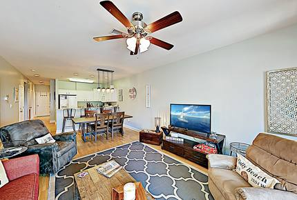 New Listing! All-Suite Paradise - Steps to Beach! - Folly Beach, South Carolina
