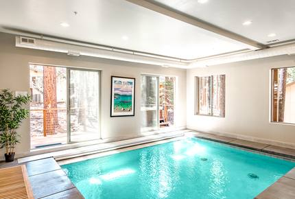 Huge Home with Indoor Pool - Walk to Skiing - South Lake Tahoe, California