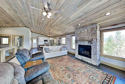 Stylish New Lake-View Home w/ Fireplace & Firepit