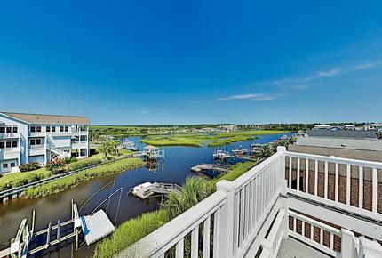 Canal Dream Home w/ Private Dock & Crow's Nest - Ocean Isle Beach, North Carolina