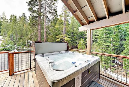 Quiet Mountain Getaway w/ Private Hot Tub, 3 Decks