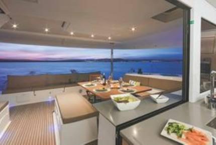 TradeWinds 52ft 5 Cabin Crewed Catamaran Cruising Class - British Virgin Islands Sailing Vacation