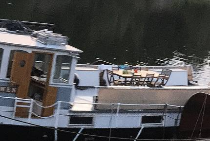 Historic Boat in Stockholm
