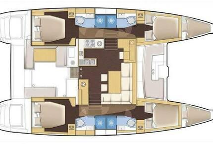 """Lagoon 450 F Catamaran """"Tramontane"""" - Navigare Yachting - Tortola, Virgin Islands, British"""