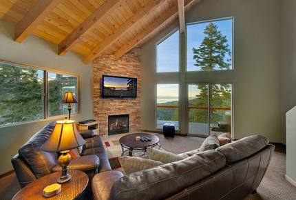 Heavenly Tahoe Lakeview Mountain Home