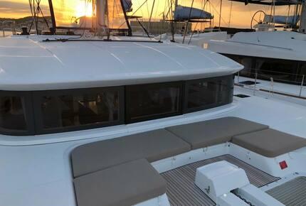 """Lagoon 50' Catamaran """"Merev"""" - Navigare Yachting - Trogir, Croatia"""