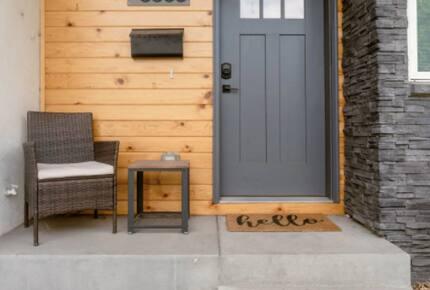 Colorado City Escape front door and steps