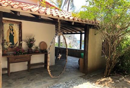 Mexican beach house La Mina - Oaxaca, Mexico