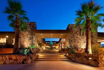 Home exchange at Westin Desert Willow Villas, exterior entrance