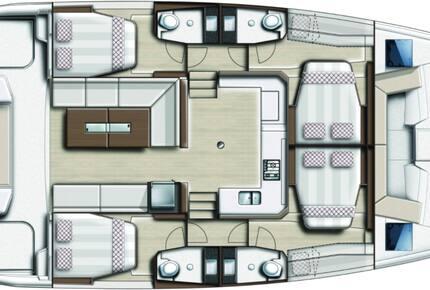 """40' Bali Catspace Catamaran - """"French Silk"""" - Navigare Yachting, BVI - Tortola, Virgin Islands, British"""