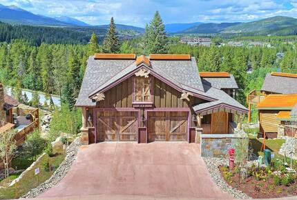 Home exchange in Breckenridge CO with driveway and 2 car garage