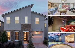 Home exchange in Kissimmee FL, 5 bedroom 6 bathroom sleeps 10