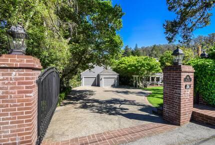 Home exchange in Mill Valley CA, 5 bedroom 5 bath sleeps 12