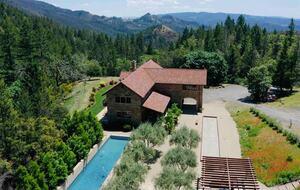 Home exchange in Calistoga CA, 5 bedroom 5 bath sleeps 8